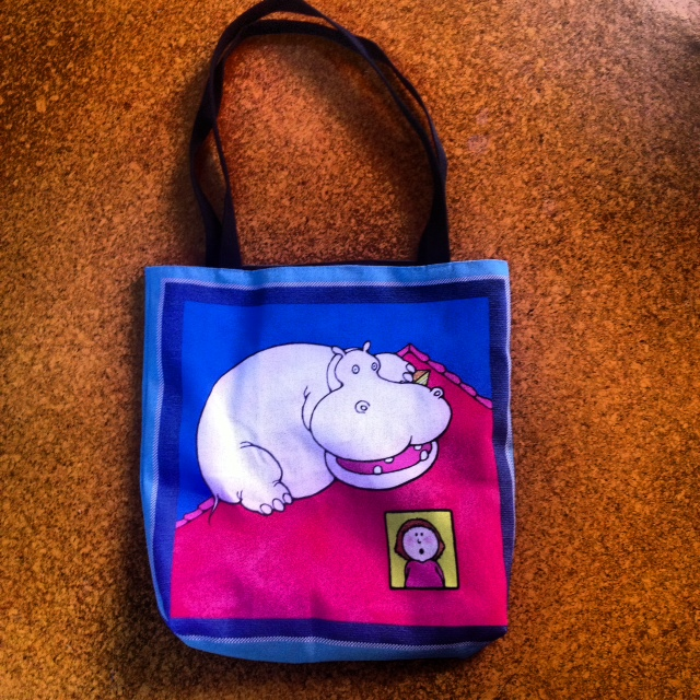 Hippo Library Bag