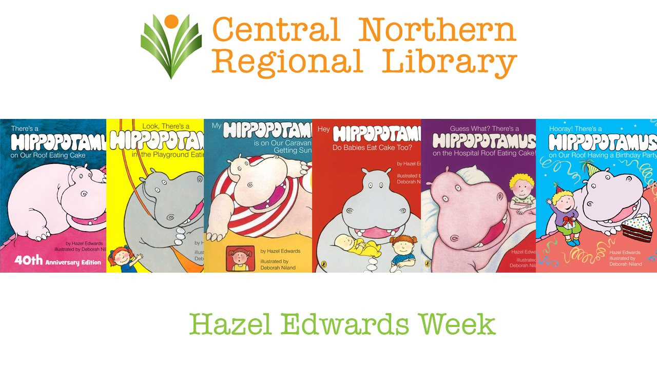 Tamworth Library 'Hazel Edwards' Week