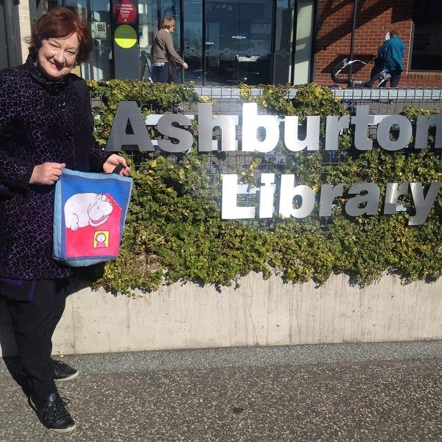 Ashburton Library where Hippo originally launched in 1980