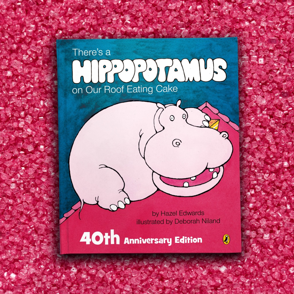 40th Hippo (red)